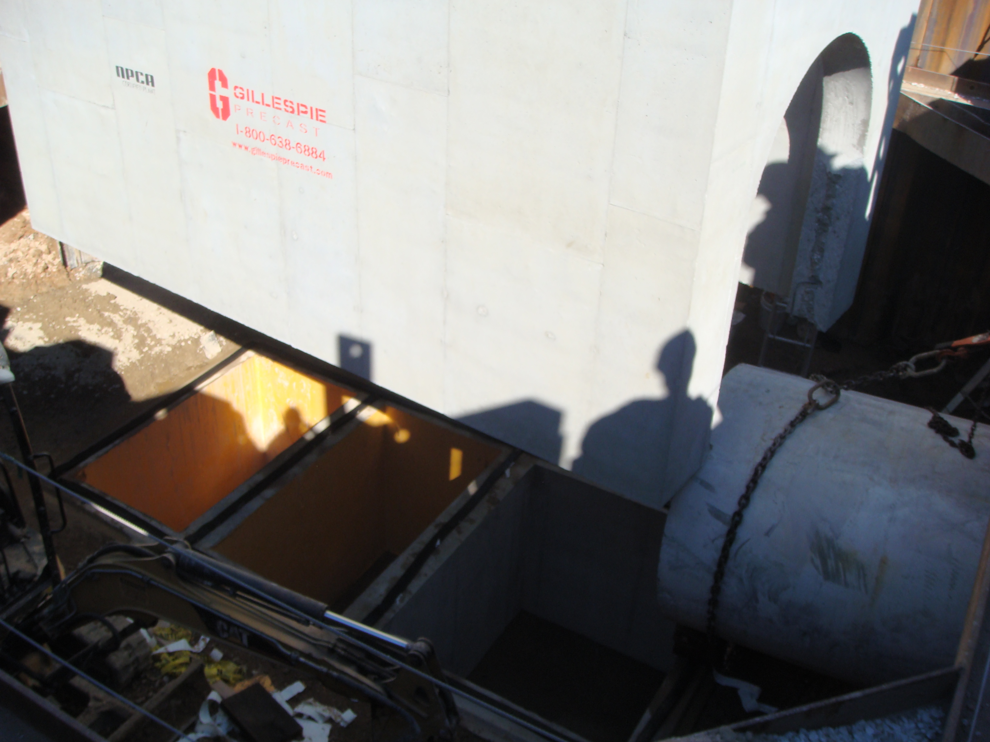 Storm Water Collection Vault
